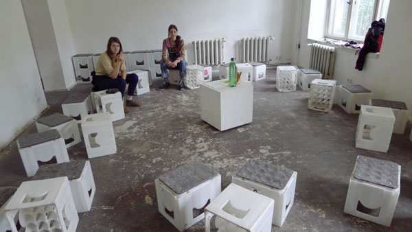 New (and old) videos by Delia POPA and Diana SANDOR, followed by a ...
